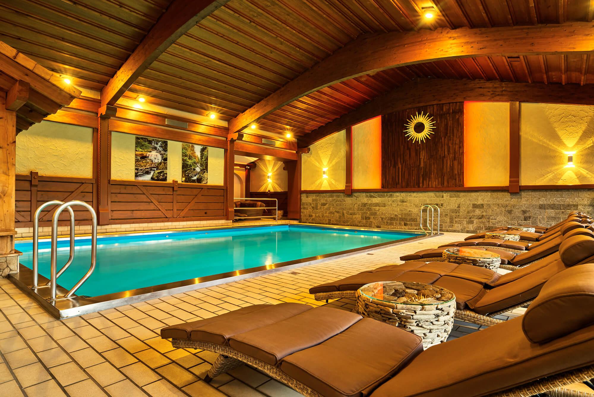 Hallenbad Sauna